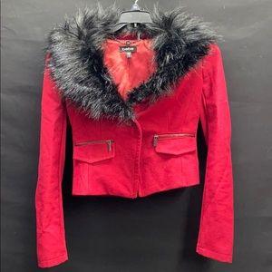 Bebe Faux Fur Jacket